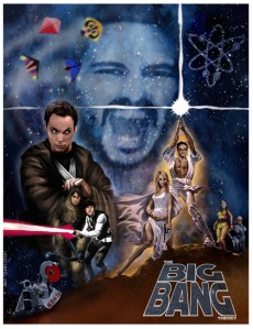 The Big Bang Theory is doing a Star Wars Episode to coincide with May the Fourth.  Get it?  May the Fourth be with you.