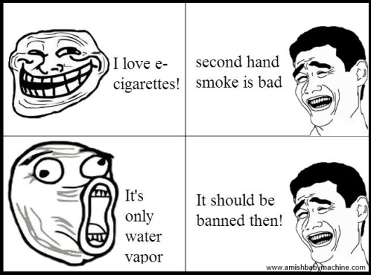 E-Cigarette meme comic