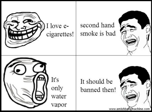 E-Cigarette meme comic