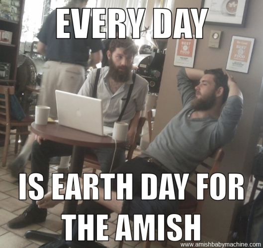 Funny Earth Day Meme : Image format amish baby machine podcast page