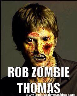 Rob  Thomas Zombie meme