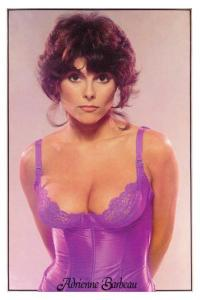 Adrienne Barbeau poster circa 1978.  Dags and Jeff discuss this 70s sex icon and her contribution to the TV world.