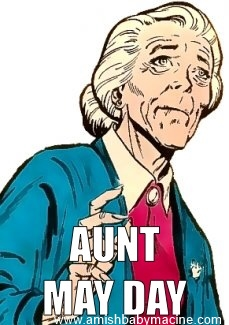 Aunt May Day Meme