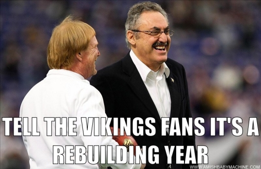Minnesota Vikings Draft Meme