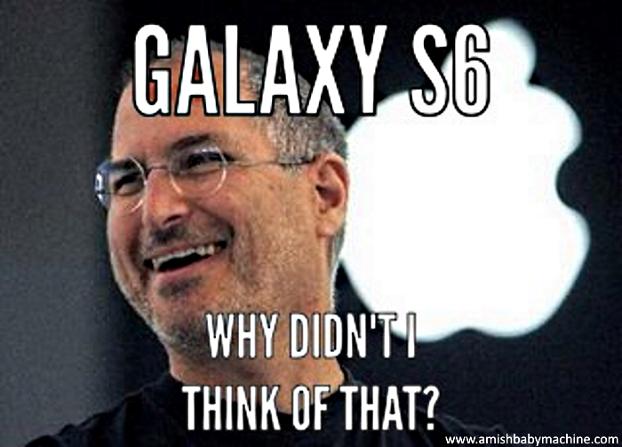 Funny Memes For Iphone : Funny iphone steve jobs meme amish baby machine podcast