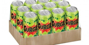Coca Cola brings back Surge.  Available on Amazon for $14 a twelve pack of 16 oz. cans.