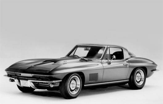 The C2 body style Corvette.  Made from 1963 to 1967.  Jeff's preferred Corvette.