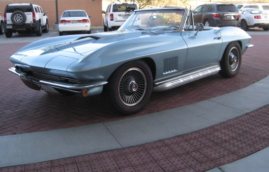 The Corvette from Con Air referenced in today's show.