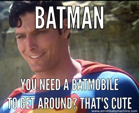 Superman vs. Batman meme