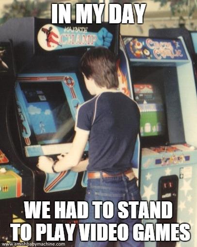 video arcade meme