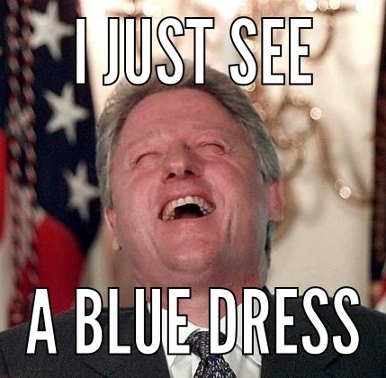 Bill Clinton dress meme