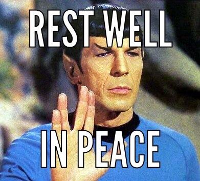 Star Trek Spock Meme Leonard Nimoy, 'Star...