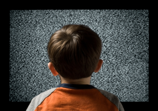 Child Watching Television