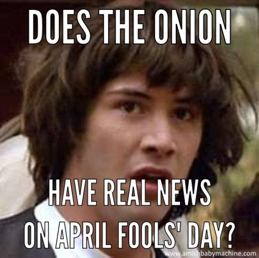 Keanu Reeves April Fools Meme